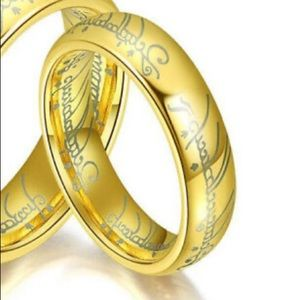 Lord Of The Rings One Ring Replica - Size 8